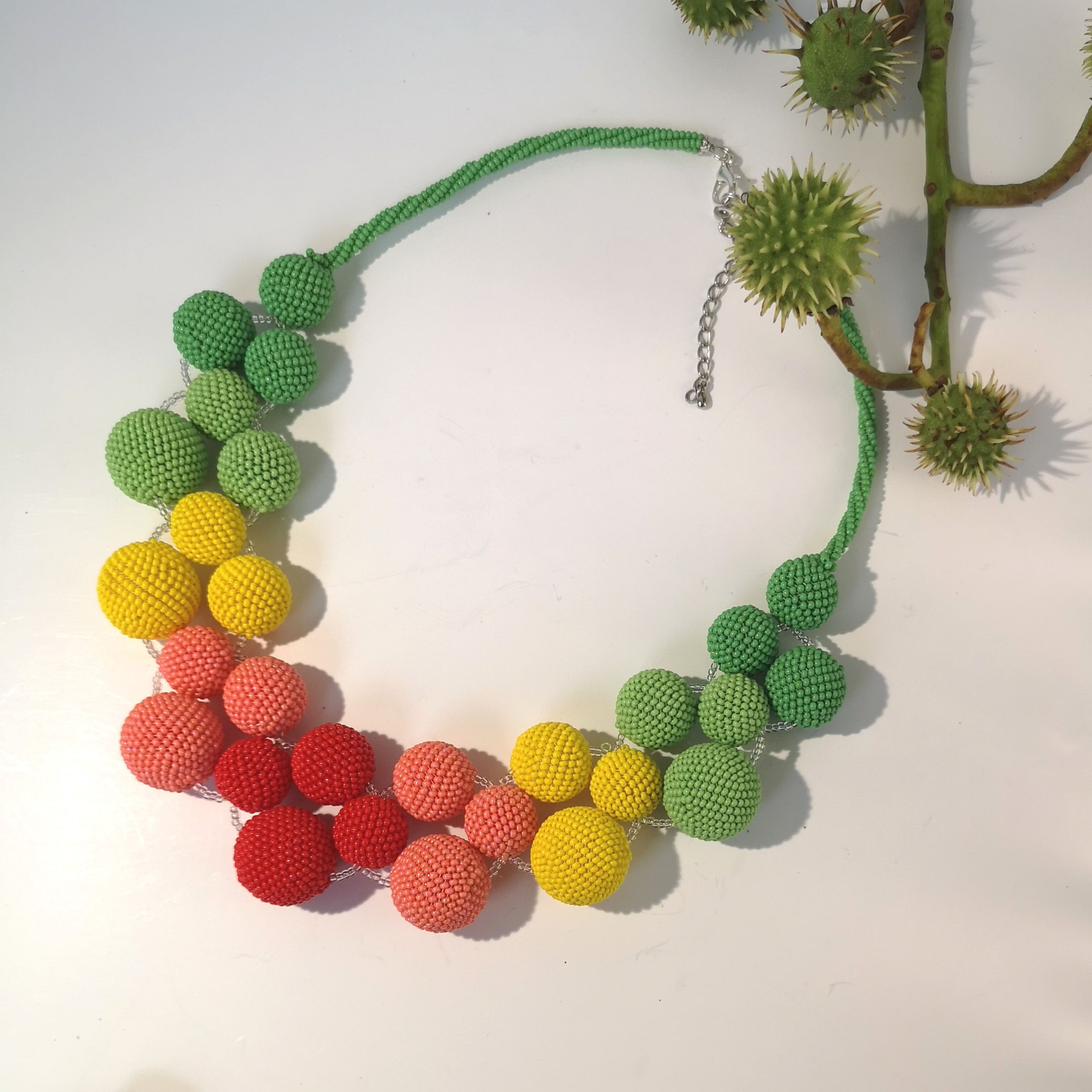 seed beads necklace (6)