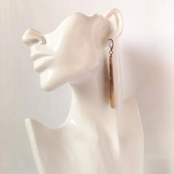 M0666 AMBER EARRINGS