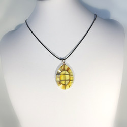 M0730 MULTICOLOUR AMBER NECKLACE
