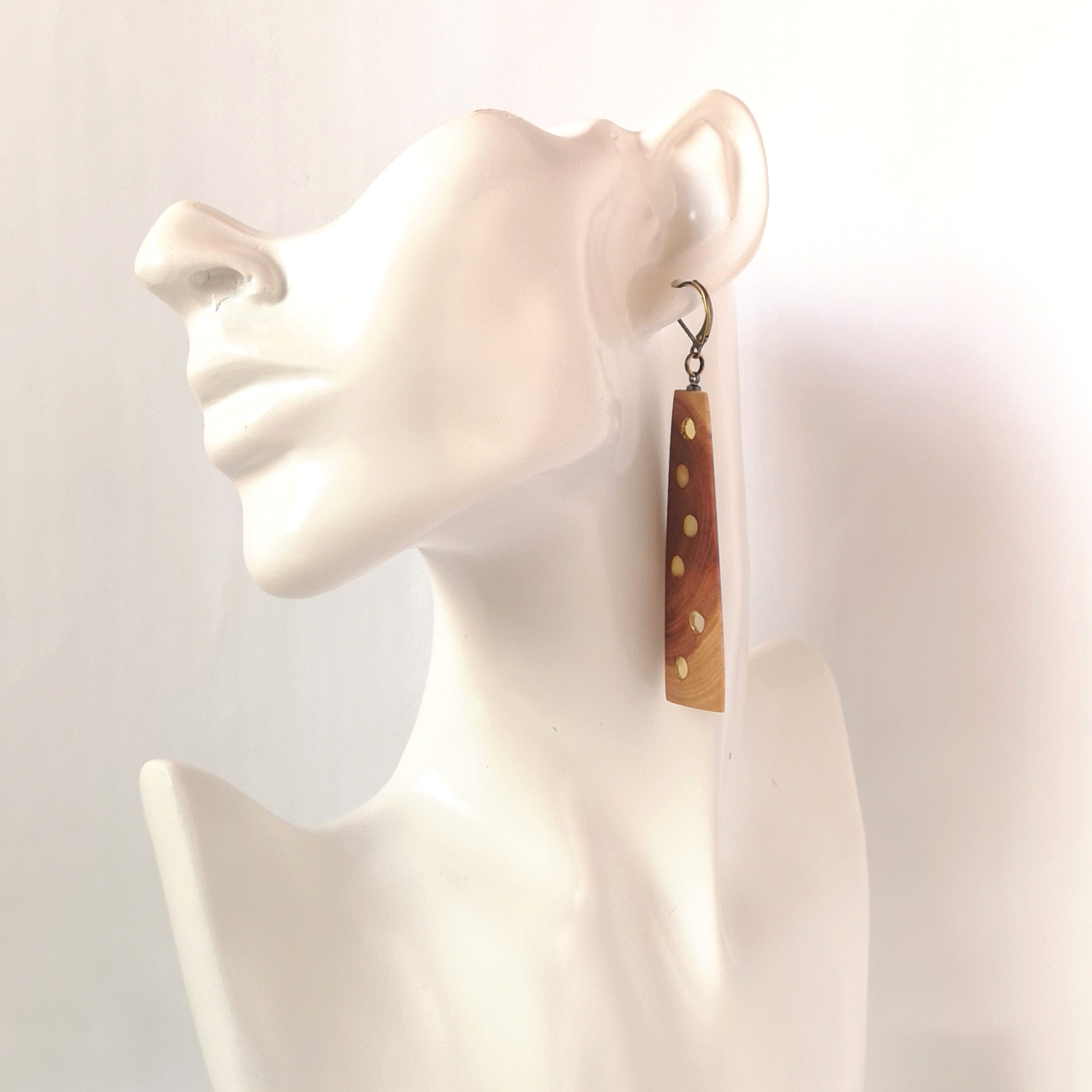 M0666 AMBER EARRINGS