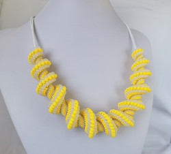 21073-3 SPIRAL NECKLACE for WOMEN