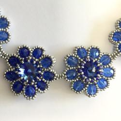 """K6027 NECKLACE """"SOMETHING BLUE"""""""