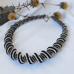 21073-1 SPIRAL NECKLACE for WOMEN