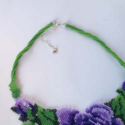 K18050 NECKLACE WITH ROSEklace 9