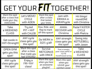 Get your FIT together!