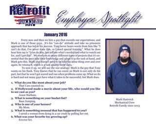 January Employee Spotlight