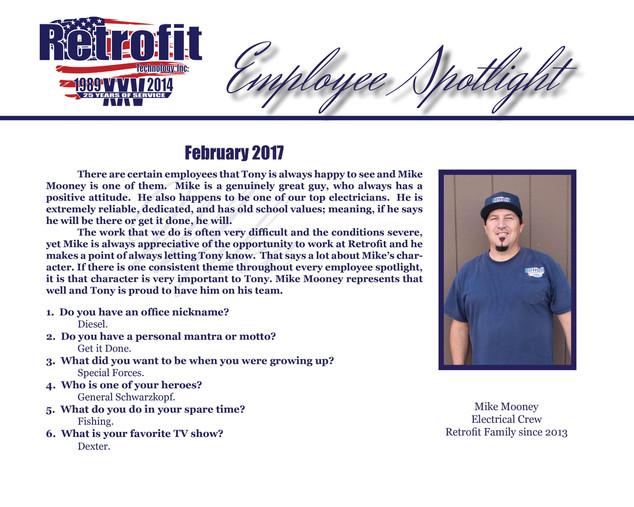 February Employee Spotlight