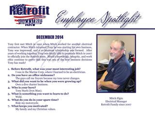 December Employee Spotlight
