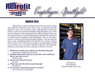 March Employee Spotlight