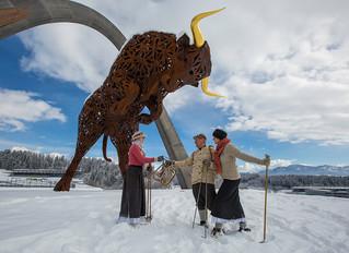 Das größte Schneeschuh-Festival Österreichs