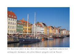 Christianhavns. Segelboote