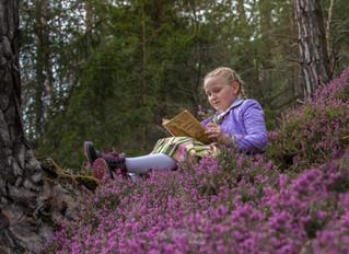 ...mit meinem Märchenbuch auf der Gulsen