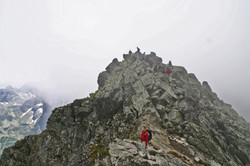 Rysy West Gipfel