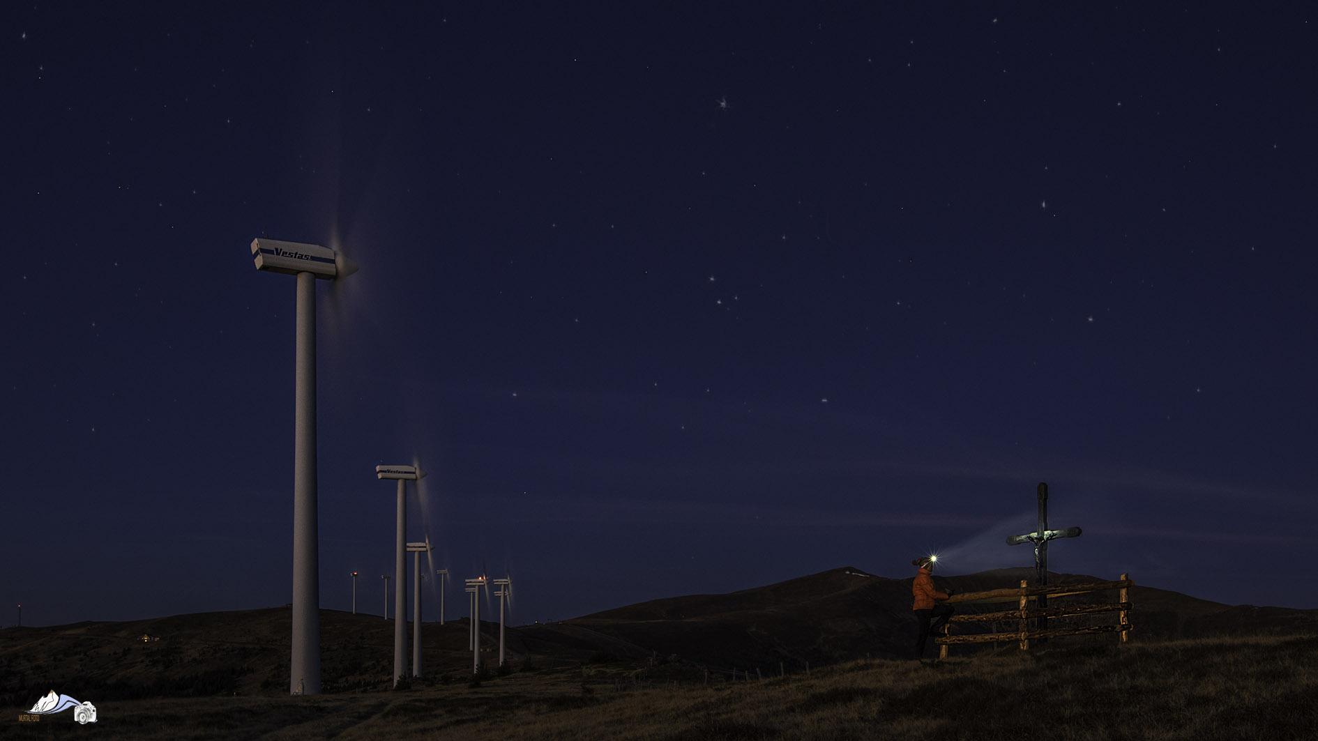 Lachtal in der Nacht-375A175