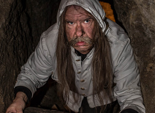 Bergknappen in der Silbergrube Oberzeiring