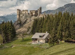 """Die Burgruine """"Steinschloß"""""""