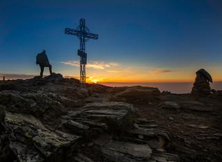 Wie der Gipfel zum Kreuz kam