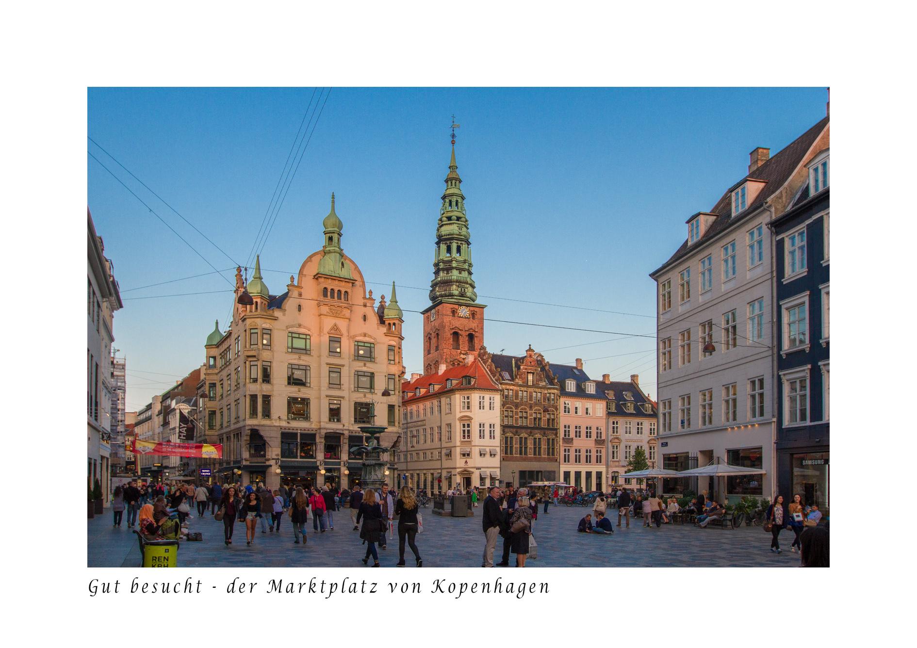 Marktplatz von Kopenhagen