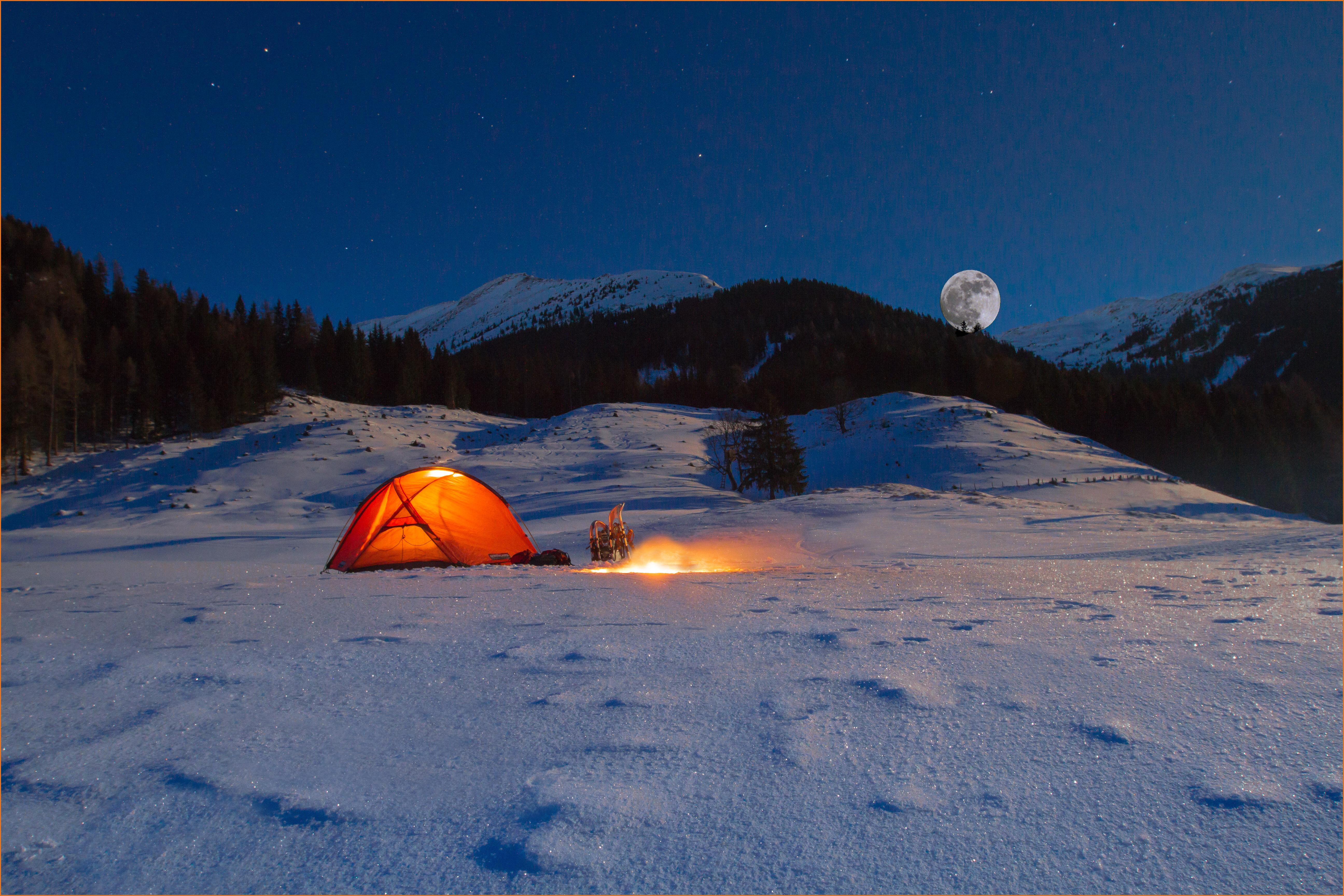 eine kalte Nacht in Bretstein