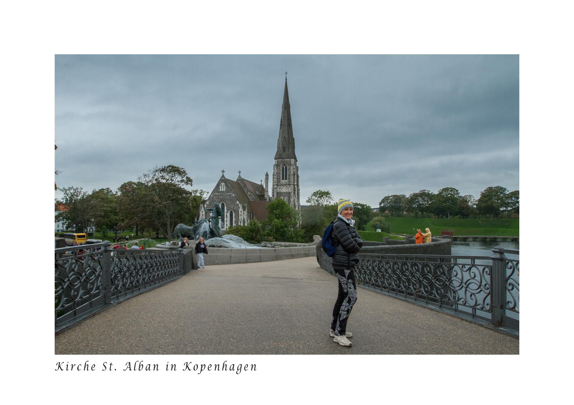 Kirche St. Alban in Kopenhagen