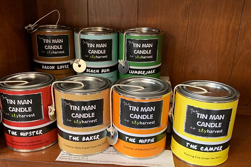 Tin Man Soy Candles