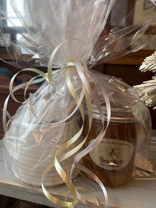 Honey Pot and Honey gift set