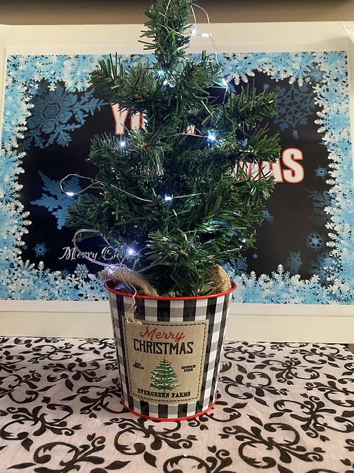 Potted Artificial Tree