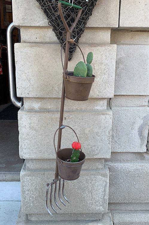 Pitchfork Flower Holder