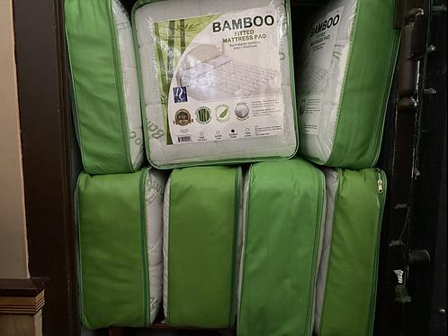 Bamboo mattress cover (king)