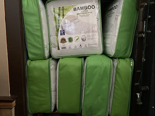 Bamboo mattress cover (double)