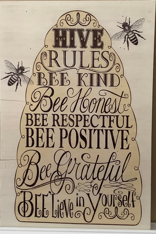 Hive Rules Picture