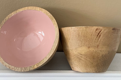 Small Wooden Fingertip Bowl