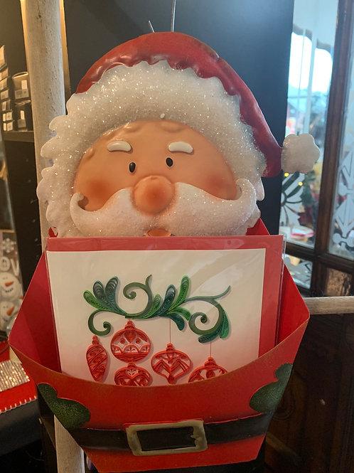 Santa letter holder