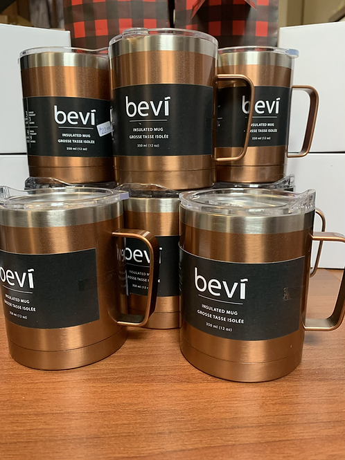 Bevi, 12 oz insulated mug