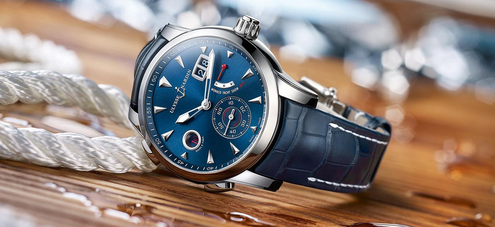 What time is it now? It's time to buy a Ulysse Nardin!