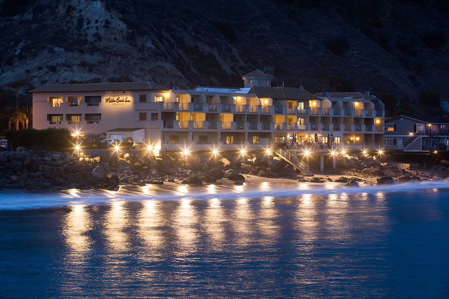 Luxury Beach Hotel in Malibu, Los Angeles, California.