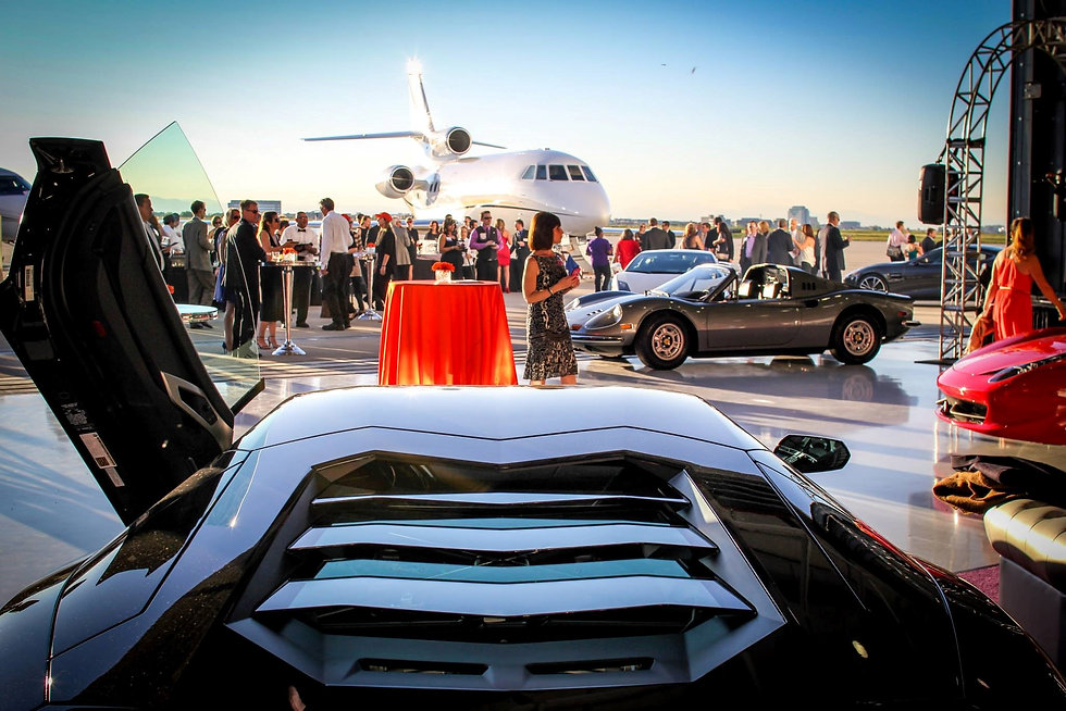 Luxury Event Marketing Agency Los Angeles. The Luxury District Club.