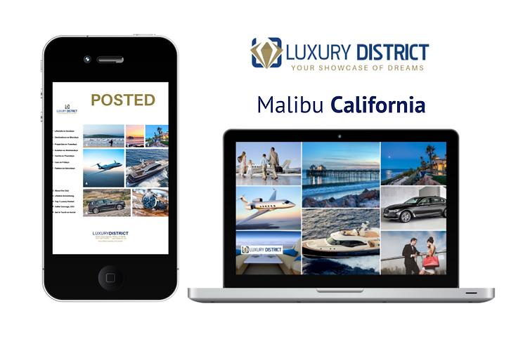 Luxury Blockchain Agency Los Angeles. The Luxury District Club.