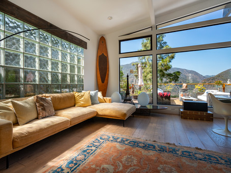 Stunning Sunset Mesa Home in Malibu by Erin Alls - Silicon Beach Homes.