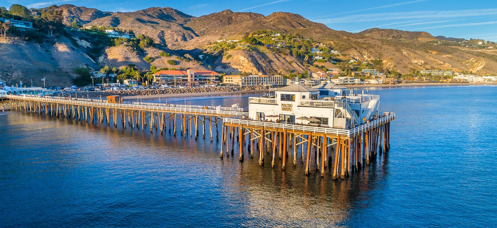 Motivation and inspiration with beautiful images of Malibu.