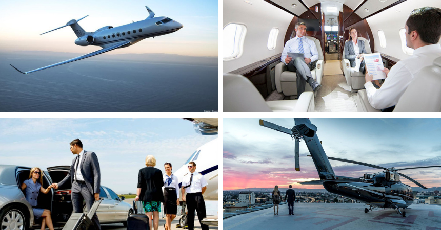 The best luxury aircrafts and aviation events.