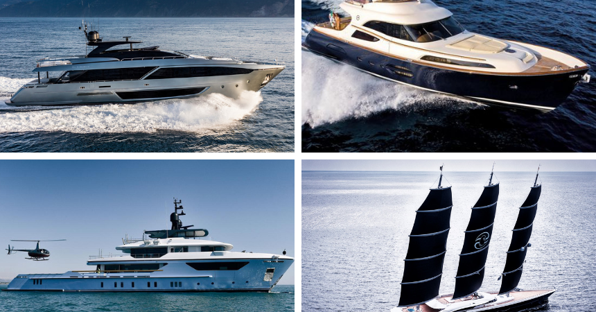 Luxury Yachts and Yachting Events