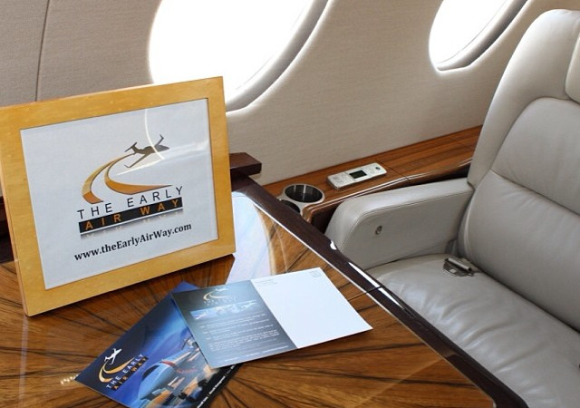 Fly with the private jet charter authority, The Early Airway.