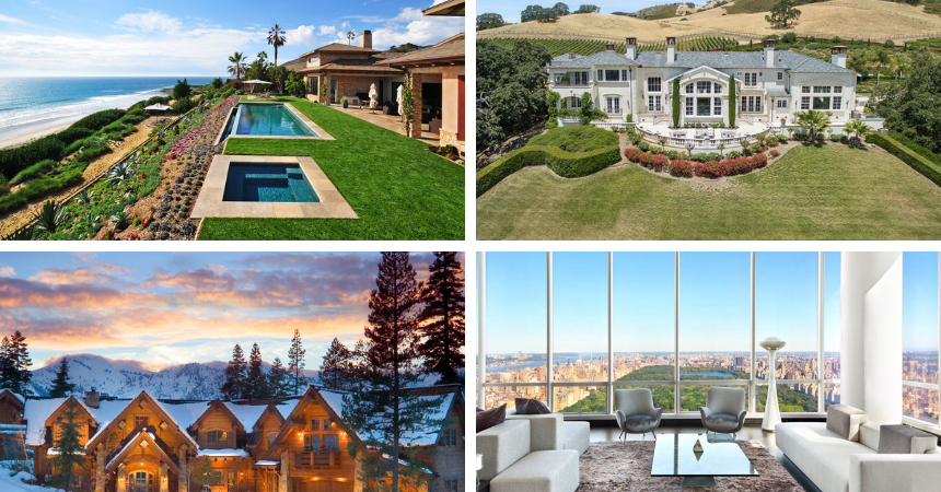 The best luxury homes and real estate events.