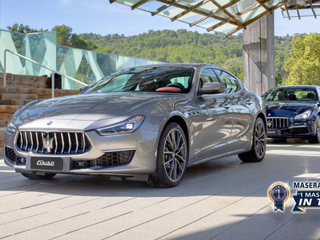 Luxury, sports and style cast in exclusive cars, Maserati.