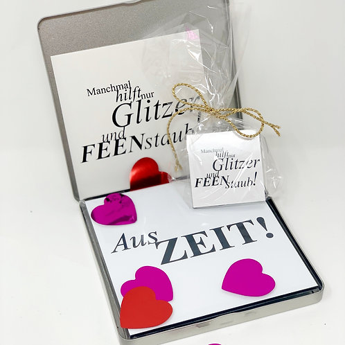 freundeBOX 7 / Magnet & Herzkonfetti