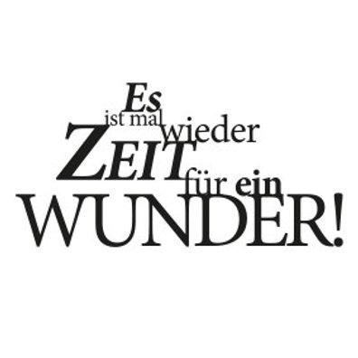 """wunschBOX / ZITAT """"Es ist mal wieder Zeit für ein Wunder!"""""""