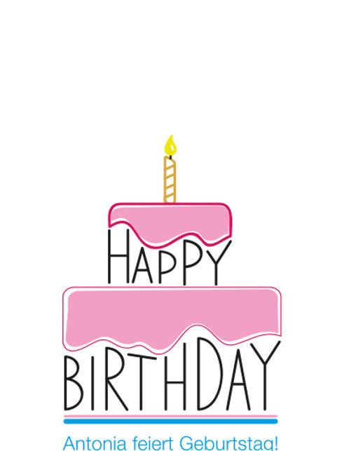 Geburtstag 12 /Torte