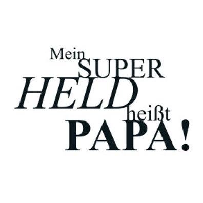 """typoBILD """"Mein Superheld heißt Papa!"""""""