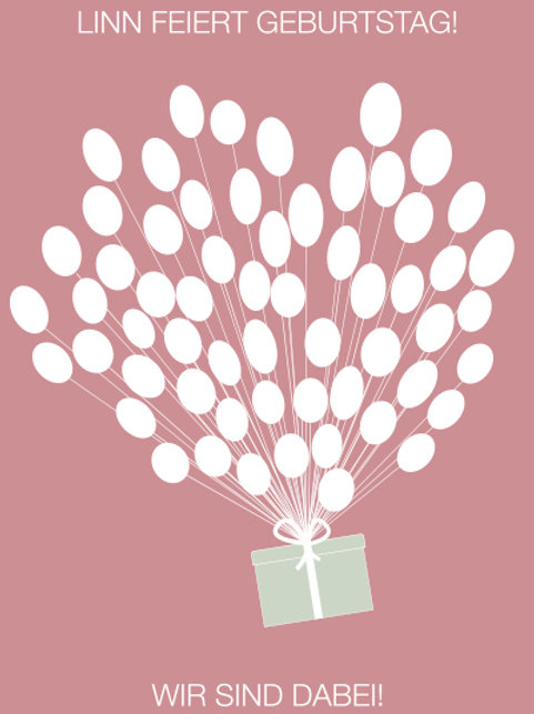 Geburtstag 6 / Geschenkballon